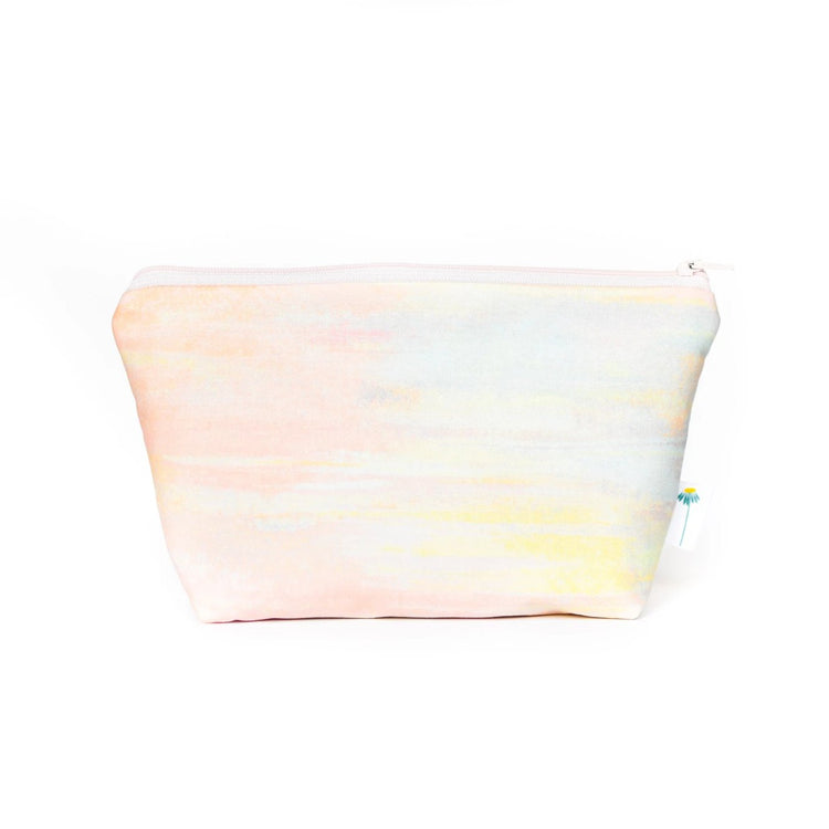 Large Zipper Pouch in Watercolor