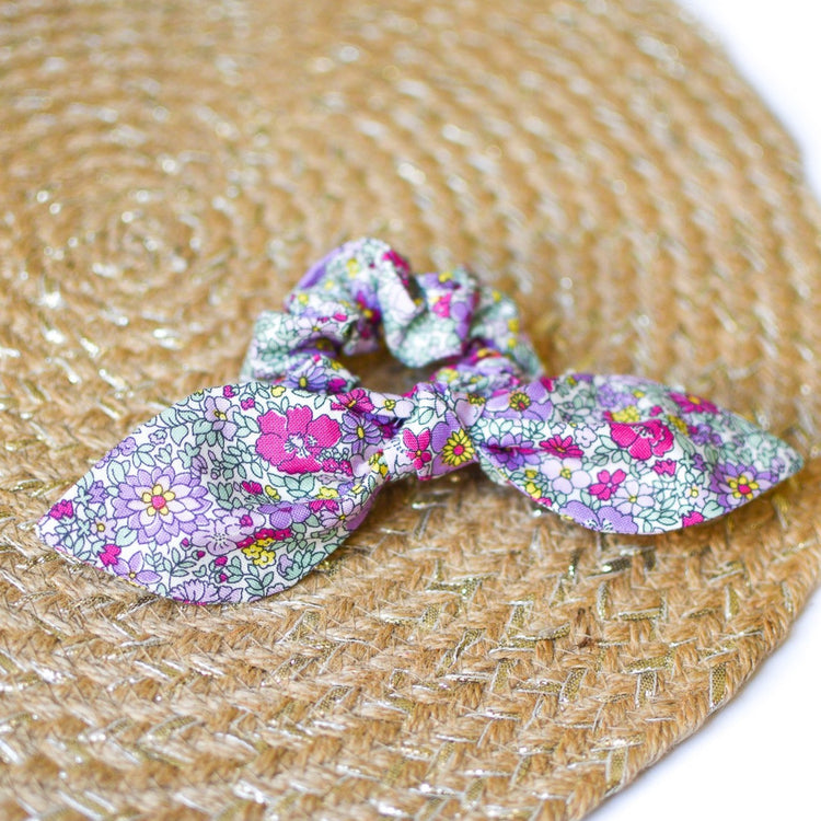 Liberty Arley Gardens Bow Scrunchie