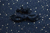 Starry Night Bow Scrunchie