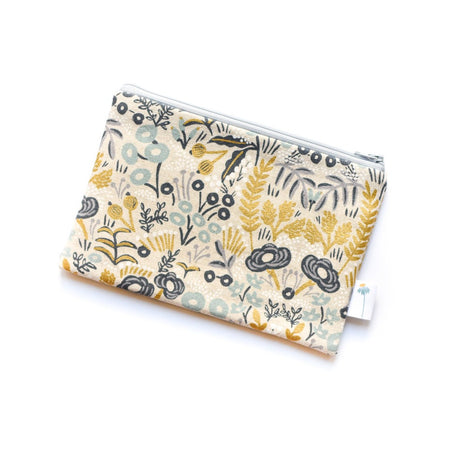 Natural Tapestry Zipper Pouch