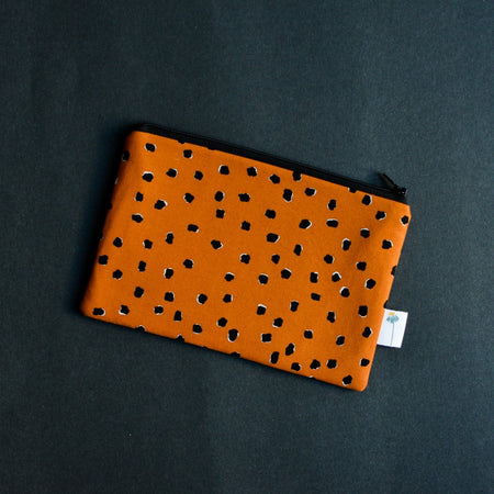 Saddle Dotty Spots Zipper Pouch