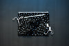 Black Dotty Spots Zipper Pouch