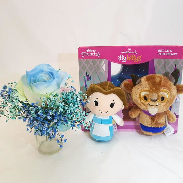 Plush- Itty & Bitty Beauty & the Beast