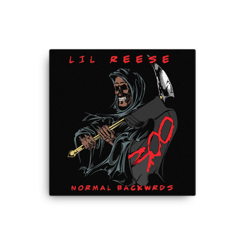 Normal Backwrds Canvas - Lil Reese