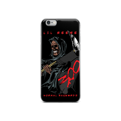 Image of Normal Backwrds iPhone Case - Lil Reese