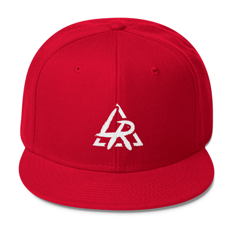 Image of Lil Reese Logo Wool Blend Snapback - Lil Reese