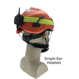 with Single-Ear Headset