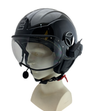 VERTIX Open Face Motorcycle Helmet Intercom