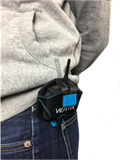 VERTIX Actio Communicator carried in belt pouch | vertixglobal.com