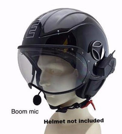 RAPTOR-i Motorcycle Communication - FM (Open Face Helmet)