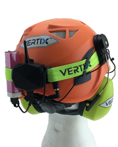 95573e4e61c ... VERTIX Actio Communicator on safety helmet | vertixglobal.com ...