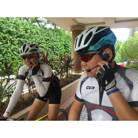 VERTIX Velo Cycling Intercom between 2 riders | vertixglobal.com