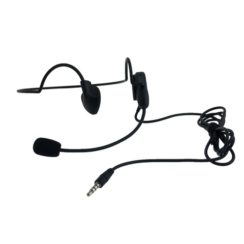 HEADSET : VTX-SS-33 (Single Speaker Headset - Long 3.5mm)