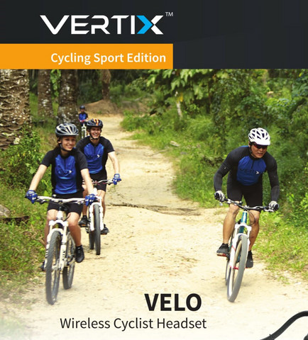 Outdoor Sports, more fun with VERTIX Velo cycling intercoms | vertixglobal.com