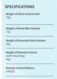 VELO Cycling Communication (Mountain Bikers)
