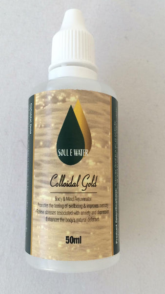 Soul E Water [Colloidal Gold]