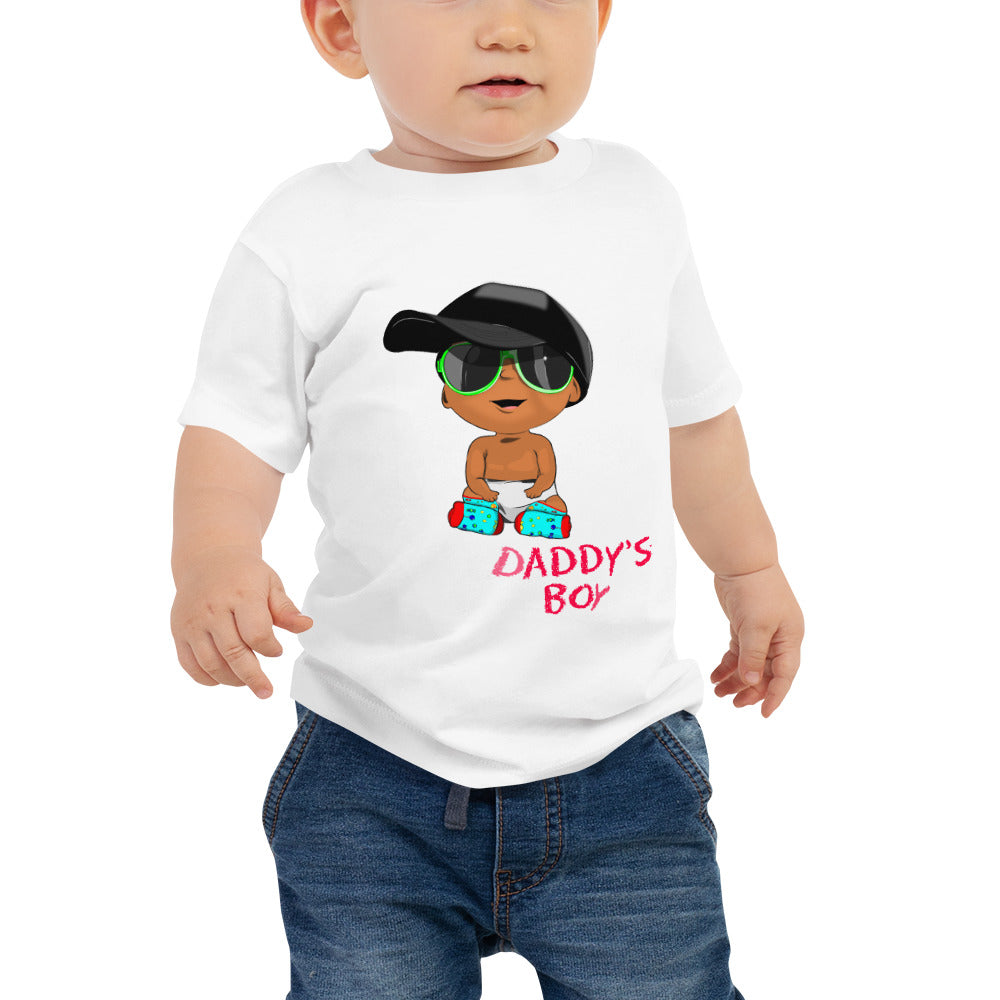 Daddy's Boy Baby Jersey Tee