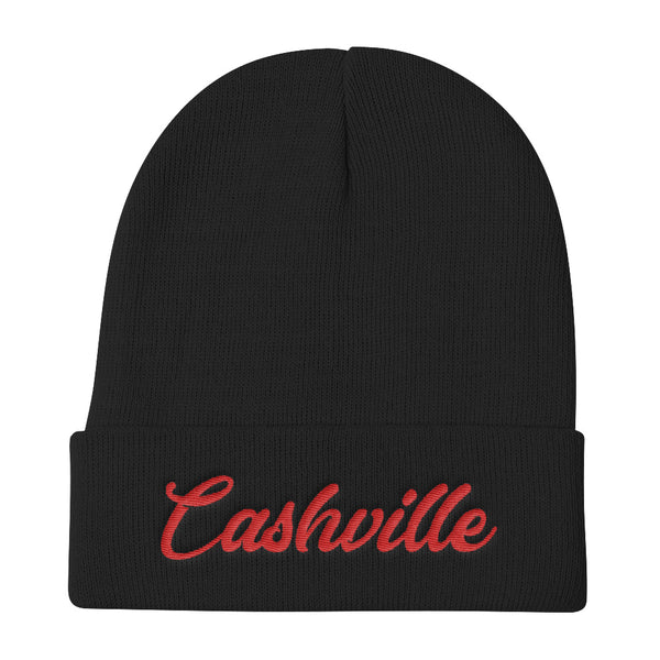 Cashville Beanie Black/Red