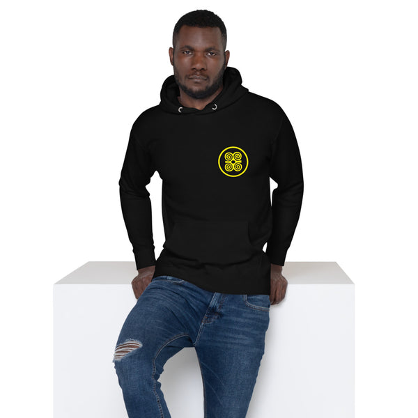 Strength Is In Numbers Hoodie Blk/Gold