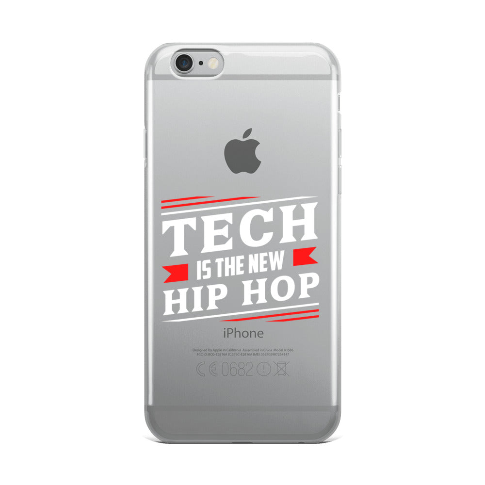 Tech Is The New Hip Hop iPhone Case