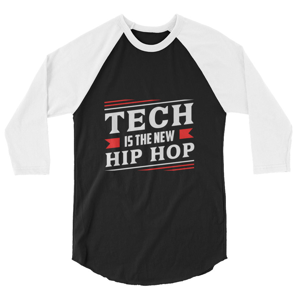 Tech Is The New Hip Hop Baseball shirt