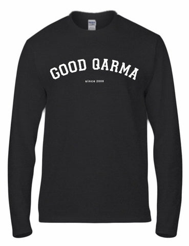 Good Qarma - Long Sleeve - Black (TS025)