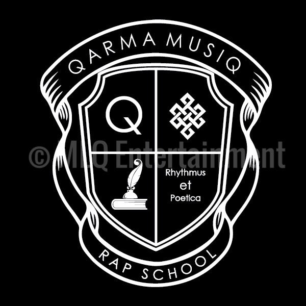 Qarma Musiq Rap School - Black (TS027)
