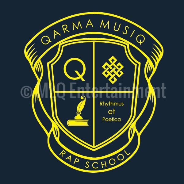 Qarma Musiq Rap School - Blue (TS028)