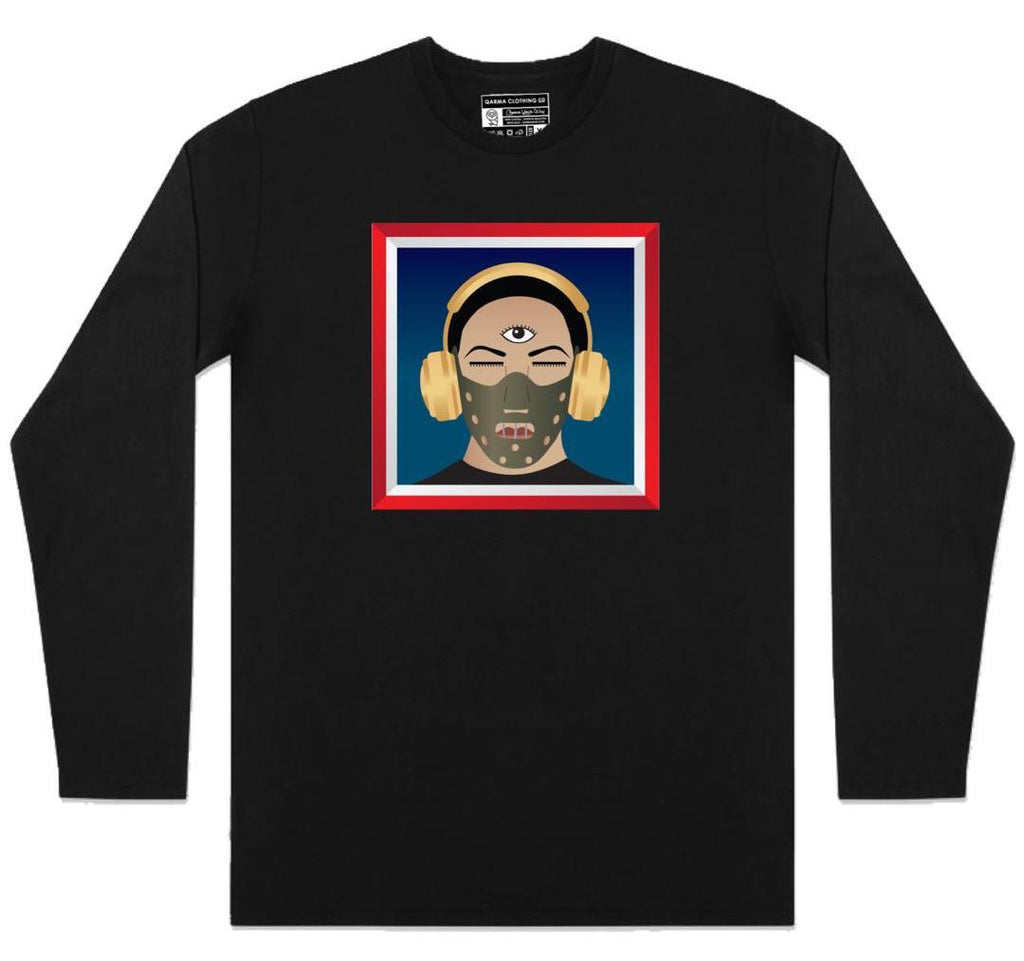 Malique TKO - One Head - Long Sleeve - Black (TS069)