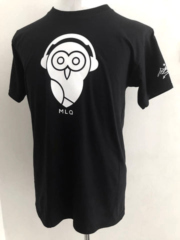 MLQ White Owl - Black (TS005)