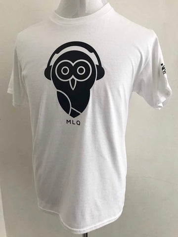 MLQ Black Owl - White (TS004)