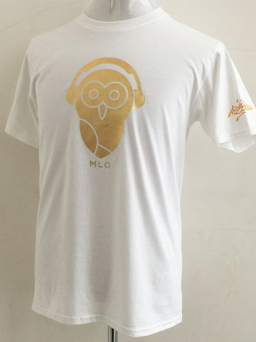MLQ Gold Owl - White (TS007)