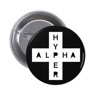 AlphaHyper Pin Buttons (pack of 5)