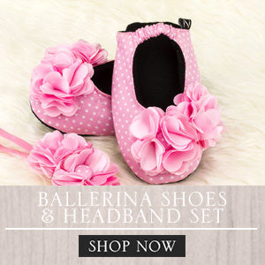 Baby Ballerina Shoes, Baby Girl accessories, Baby stuff, Ballerina set for babies, Philippines