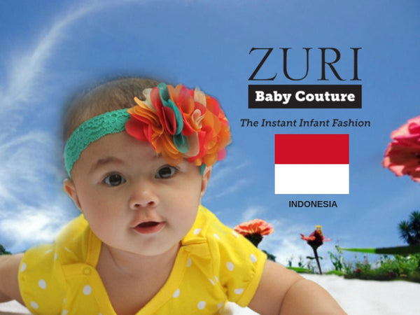 Zuri Baby Couture Indonesia - The Number one Baby Brand in Asia