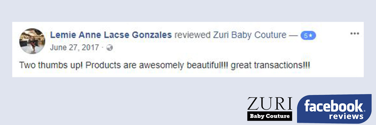 ZuriBabyCouture Facebook Reviews
