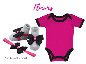 Baby Onesie with Barefoot & Headband 3-9 months - ZuriBabyCouture, baby fashion, baby shoes, infant fashion