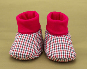 Red Attack Baby Boy Shoes - ZuriBabyCouture, baby fashion, baby shoes, infant fashion