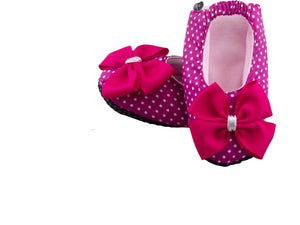 Serendipity Ballerina Shoes and Headband Set - ZuriBabyCouture, baby fashion, baby shoes, infant fashion