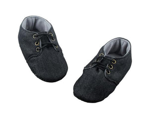 Paint the world black Baby Boy Shoes - ZuriBabyCouture, baby fashion, baby shoes, infant fashion
