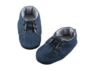 Denim is in! Baby Boy Shoes - ZuriBabyCouture, baby fashion, baby shoes, infant fashion