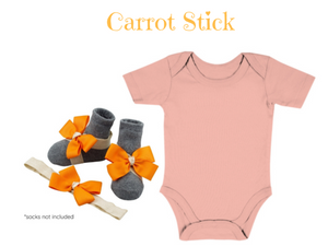 Buy 1 Take 1 Promo- Baby Onesie with Barefoot & Headband 0-6 months - ZuriBabyCouture, baby fashion, baby shoes, infant fashion