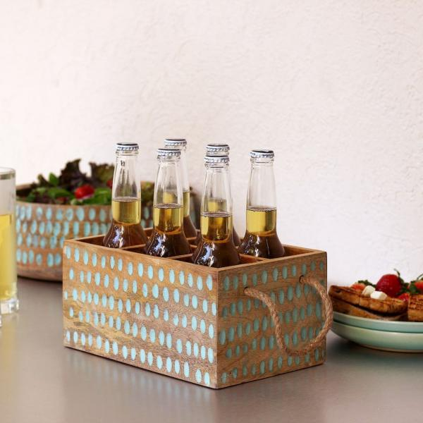 Hammered Bottle Holder