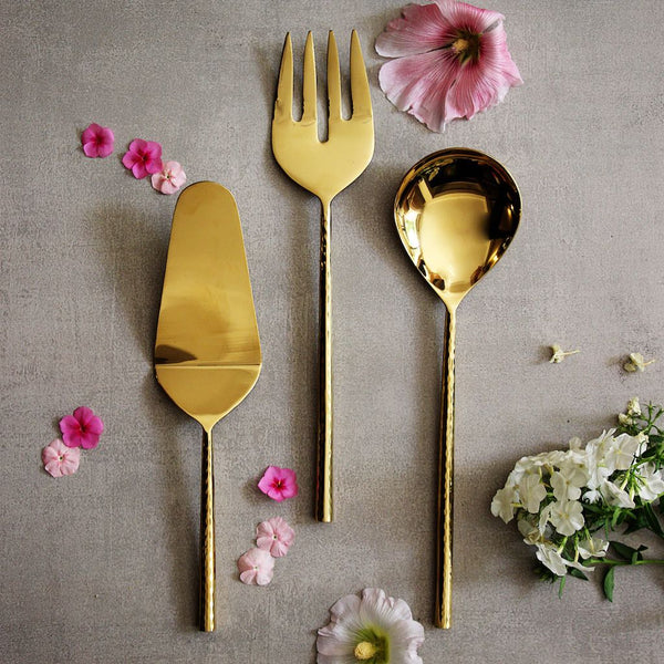 Aurum Serving Cutlery Set
