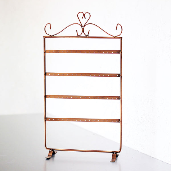 Copper Earring Stand