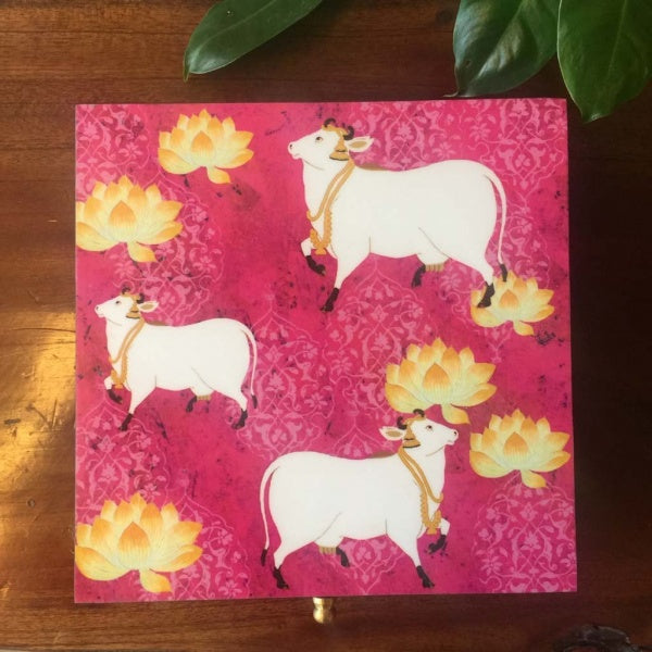 Pink Cow Gift Box