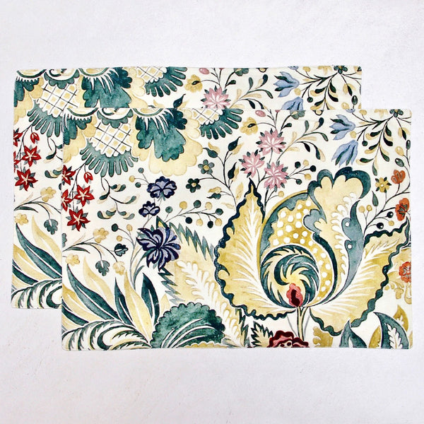 Garden Table Mats - Set of 6
