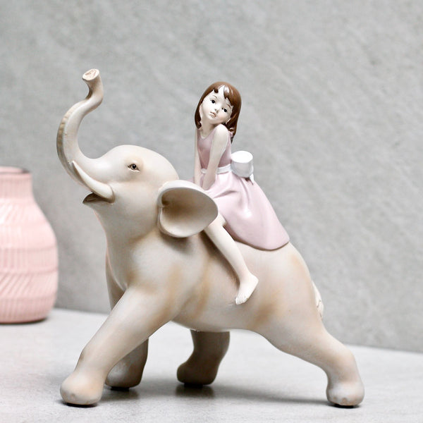 Girl on an Elephant