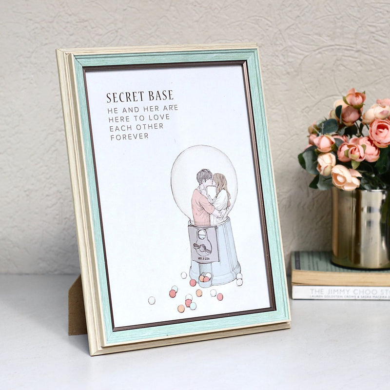 Green Single Photo Frame