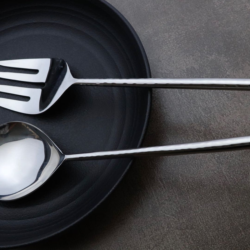 stainless steel serving cutlery set